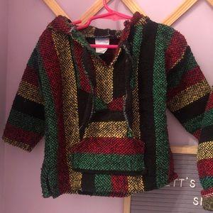 Toddlers Mexican Baja hoodie